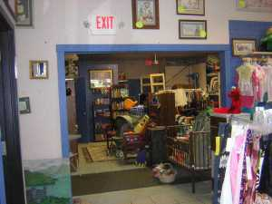 Draw shoppers into your consignment shop back room