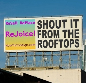 ReSell RePlace ReJoice...and let them KNOW you do!