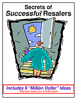 Specific Secrets for Successful Resalers by Kate Holmes