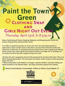 Clothing swaps, a way to recyle