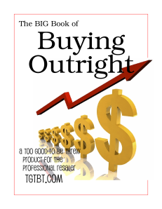The BIG Book of Buying Outright