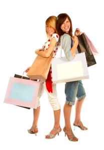 Girlfriends shopping together stay longer so you can sell them more.