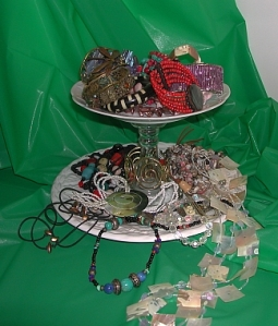 Tempting jewelry display