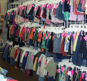 Great selection: of hot-pink price tags