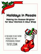 Build your holiday business, even if you ARE resale!