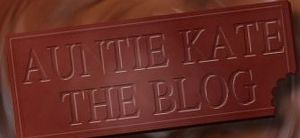 Auntie Kate the Blog: better than a chocolate bar