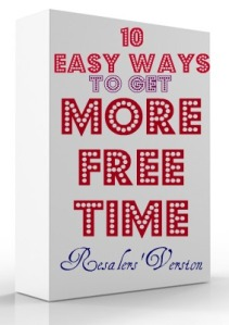 10 Easy Ways to Get More Free Time, Resale Version, from TGtbT.com
