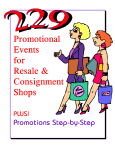 229 Promotional Events for Resale & Consignment Shops from TGTbT.com