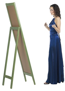 Great re-reflection: Letting them pass on their prom attire in your consignment shop!