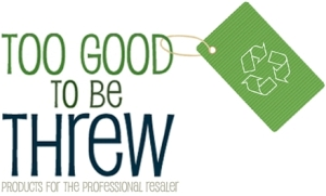 The identifying logo of Too Good to be Threw