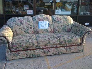 Recycling at its extreme at a consignment, resale, or thrift store.