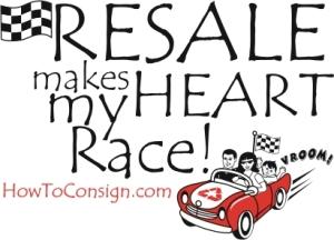 Resale makes my Heart Race