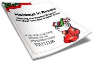 Holiday selling for consignment, resale & thrifts: Priceless advice from Kate Holmes of TGtbT.com