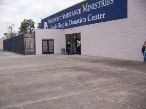 A consultee of Too Good to be Threw, the Northwest Assistance Ministries in Houston