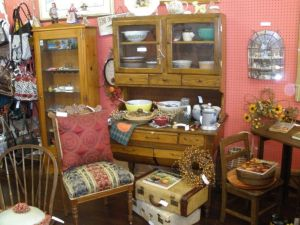 A variety of wonderful resale treasures as photographed by TGtbT.com
