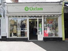 A well-known nonprofit thrift operation in Great Britain, Oxfam