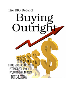 Buying Outright for Resale Shops
