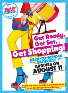 Teen Vogue organizes Back to School shopping day