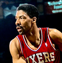 Dr J, Julius Erving, in 1987 From wikipedia