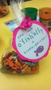 O'fish'ally treat bag
