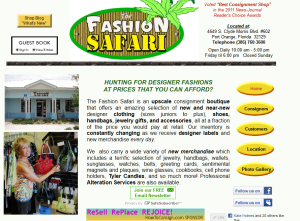 The Fashion Safari is a Sponsor of HowToConsign.com