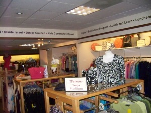Non profit thrift stores need to tell their shoppers why the shop is there!