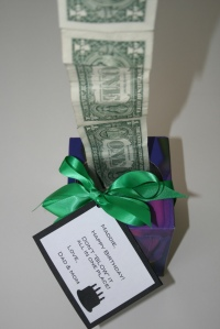 Don't blow all your money gift idea from HowtoConsign.com's Pinterest