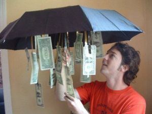 It's rainy-day cash! Great gift idea from TGtbT.com's Pinterest Boards