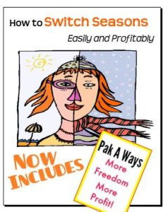 How to Swich Seasons Easily & Profitably, a TGtbT.com Product for the Professional Resaler from Kate Holmes