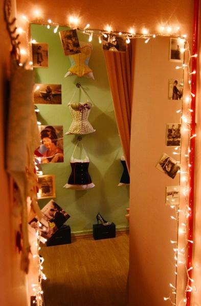 back room lights