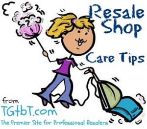 Resale Shop Care Tips from TGtbT.com