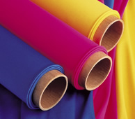 Carpet or fabric core tubes can be recycled as consignment shop props