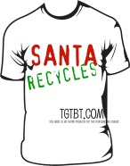 Santa is a saver. He shops consignment, resale and thrift!