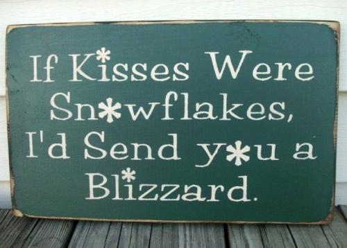 If THANKS were snowflakes