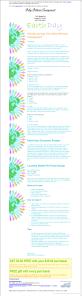 Consignment shop e-newsletter