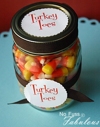 Turkey toes as a Thanksgiving treat in your consignment shop!