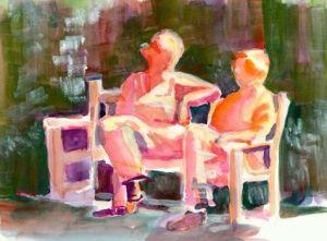 131103 Moriarty_Sheila-Two_Friends_Talking