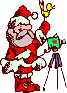 Video's the way to go: Ask Santa
