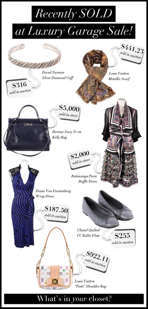 140322 luxury garage sale