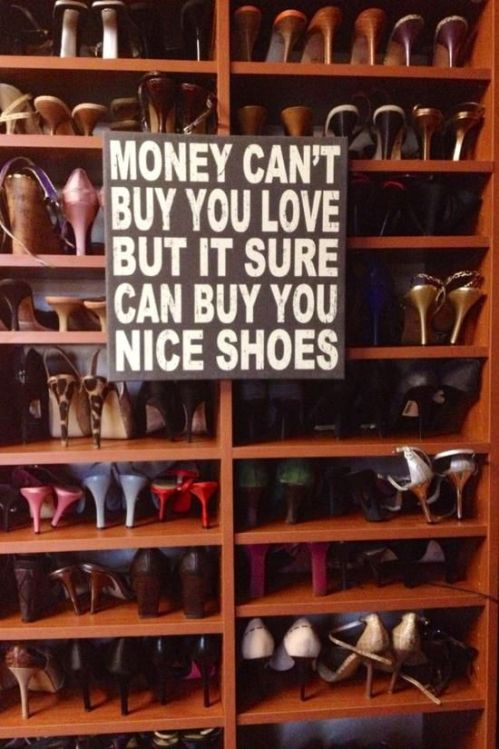 Money can't buy...