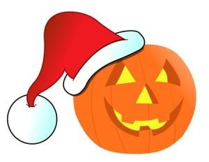 Santa Pumpkin wants to say: Holidays in Resale are great!