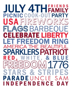 Auntie Kate loves how resale shopkeepers enjoy the 4th of July with their Facebook posts!