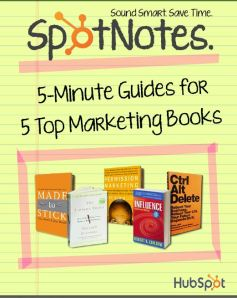 "Great ""readers' digest versions of 5 top marketing books for consignment and resale"