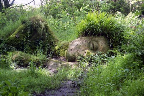 sleeping muse lost gardens of heligan