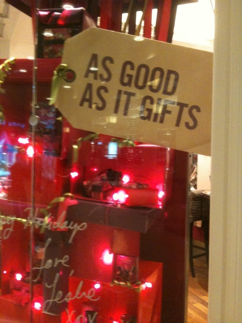 Gathering gift ideas in your consignment shop