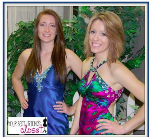 Prom dresses on models makes a great Facebook post