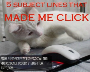 5 subject lines that made me click