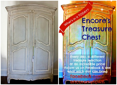 TGtbT.com says: turn that bulky unsaleable armoire into a Treasure Chest of deals (and attention!)