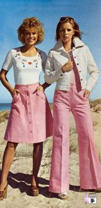 In 1975, these were the fashions my consignment shop was selling!