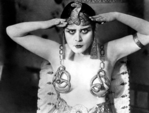Theda Bara would have been the ideal consignment shop shopper!